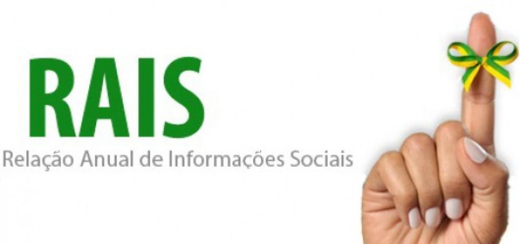 RAIS - RELAÇÃO ANUAL DE INFORMAÇÕES SOCIAIS