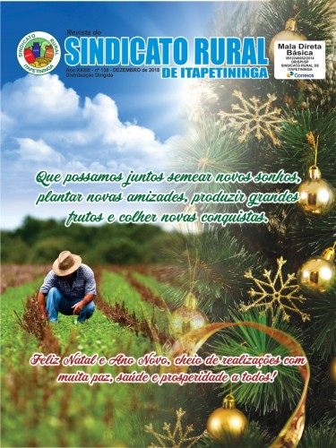 Revista do Sindicato Rural de Itapetininga - Dezembro/2018