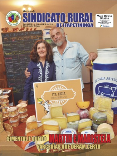 Revista do Sindicato Rural de Itapetininga - Junho/2018