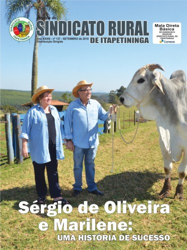 Revista do Sindicato Rural de Itapetininga - Setembro/2018