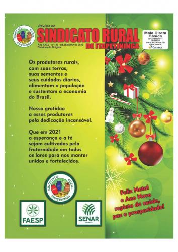 Revista Sindicato Rural de Itapetininga - Dezembro/2020