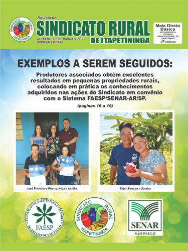 Revista Sindicato Rural de Itapetininga - Março/2019