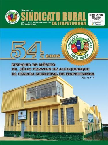 Revista Sindicato Rural de Itapetininga - Setembro/2019
